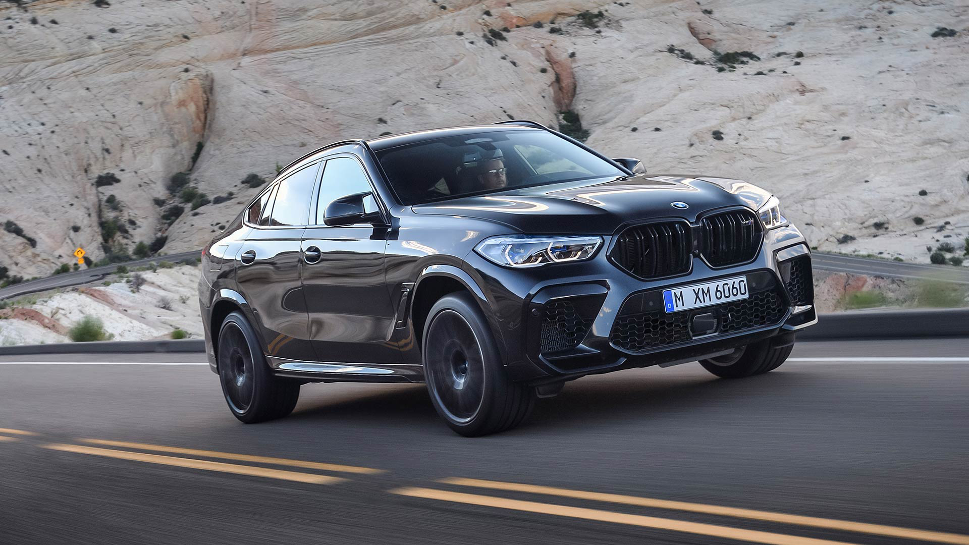 2020 G06 BMW X6 M Competition