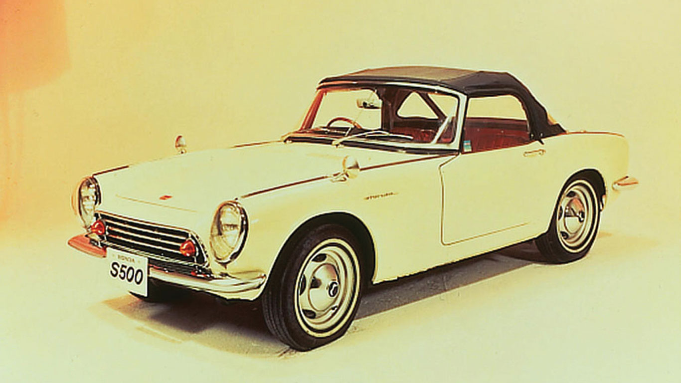 The Honda S500 and S800