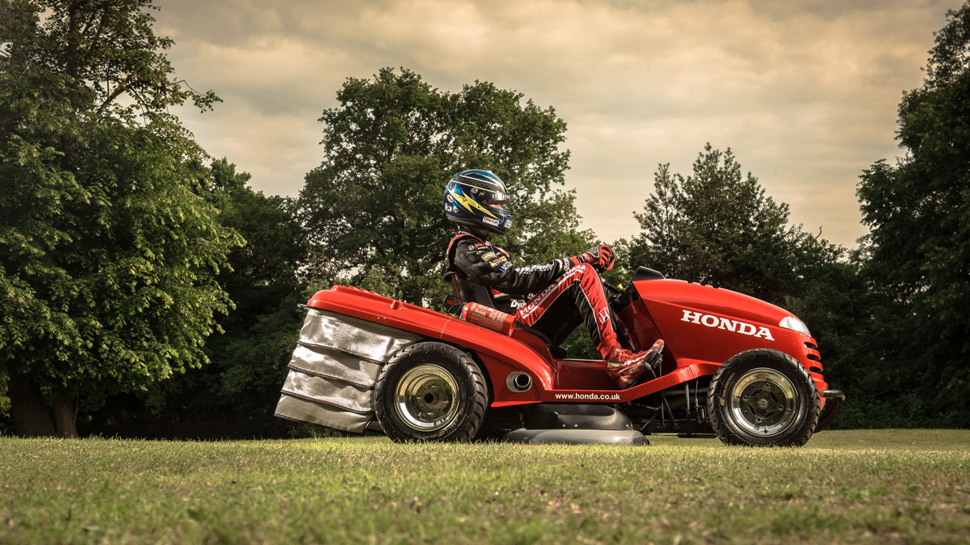 Honda sets the wheels in motion