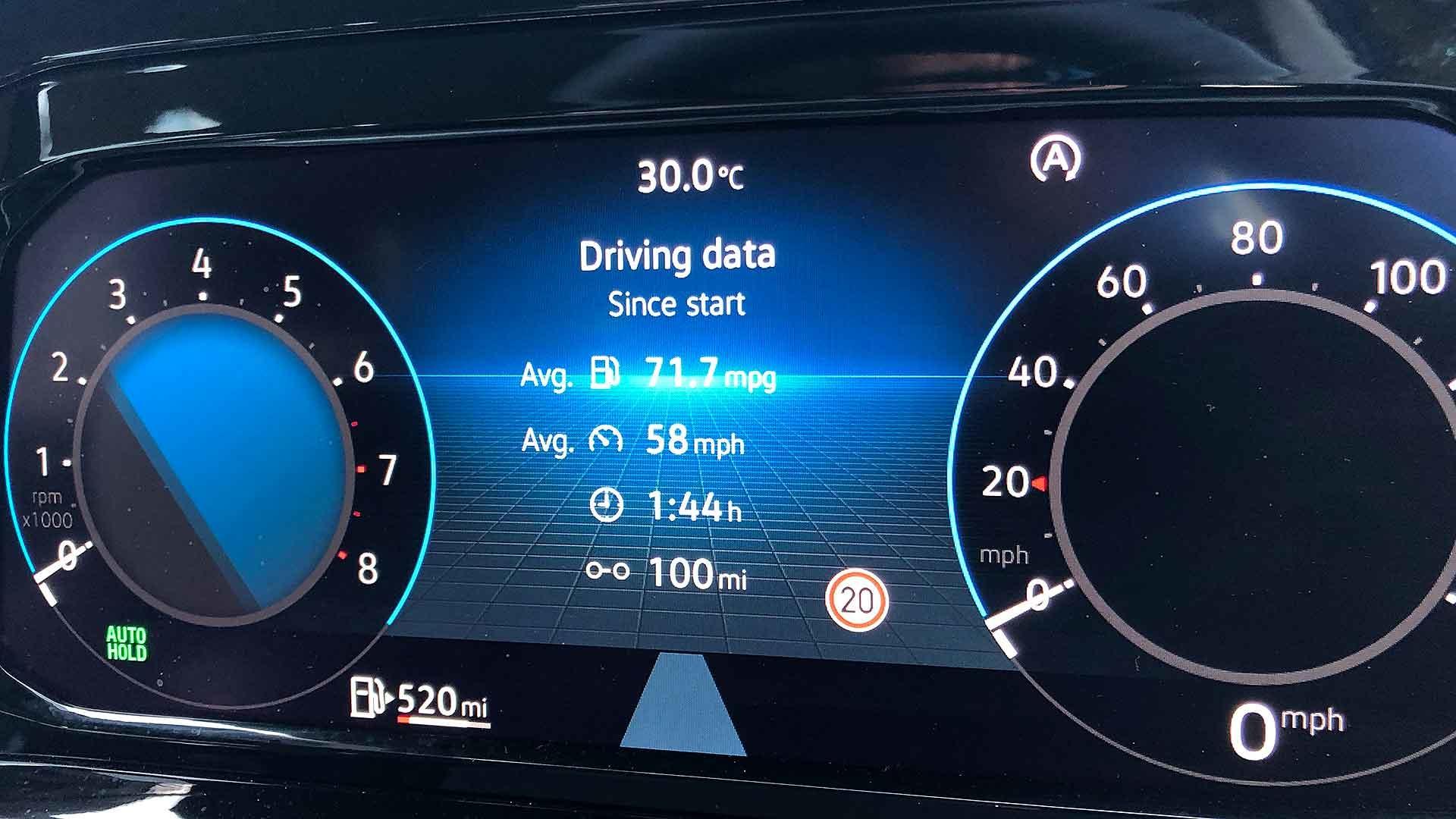 Volkswagen Golf Life 1.5 TSI 130 mpg
