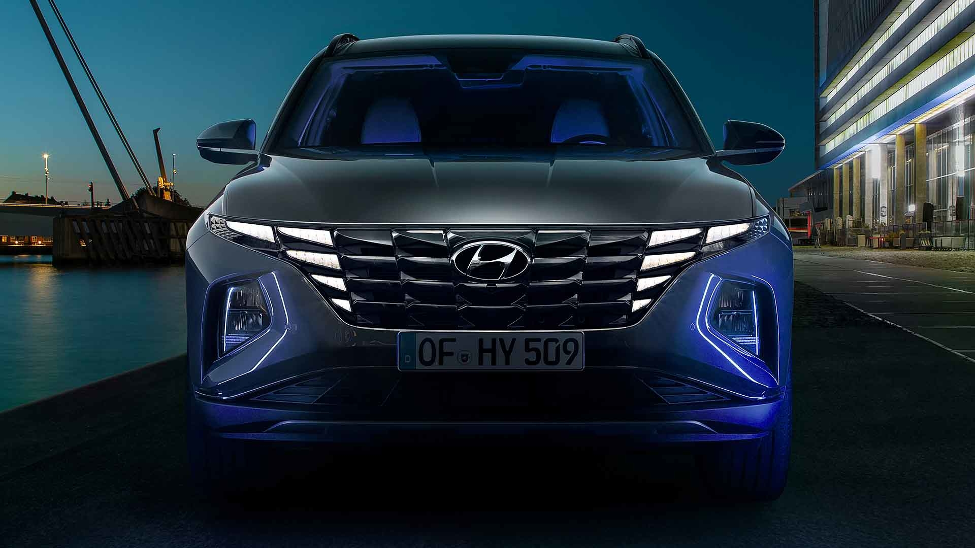 dramatic styling of new 2021 hyundai tucson revealed