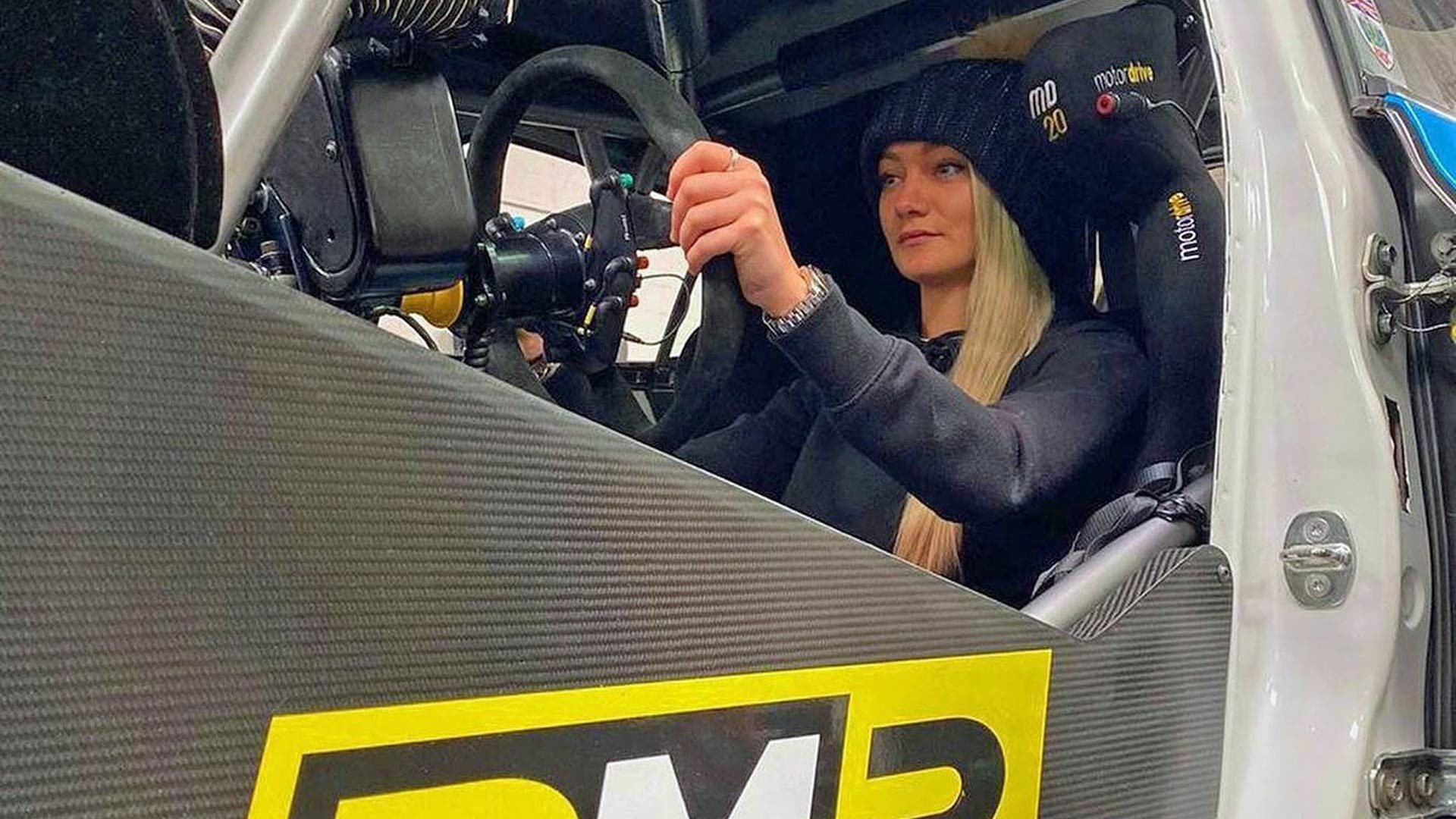 Jess Hawkins 2020 BTCC Drive