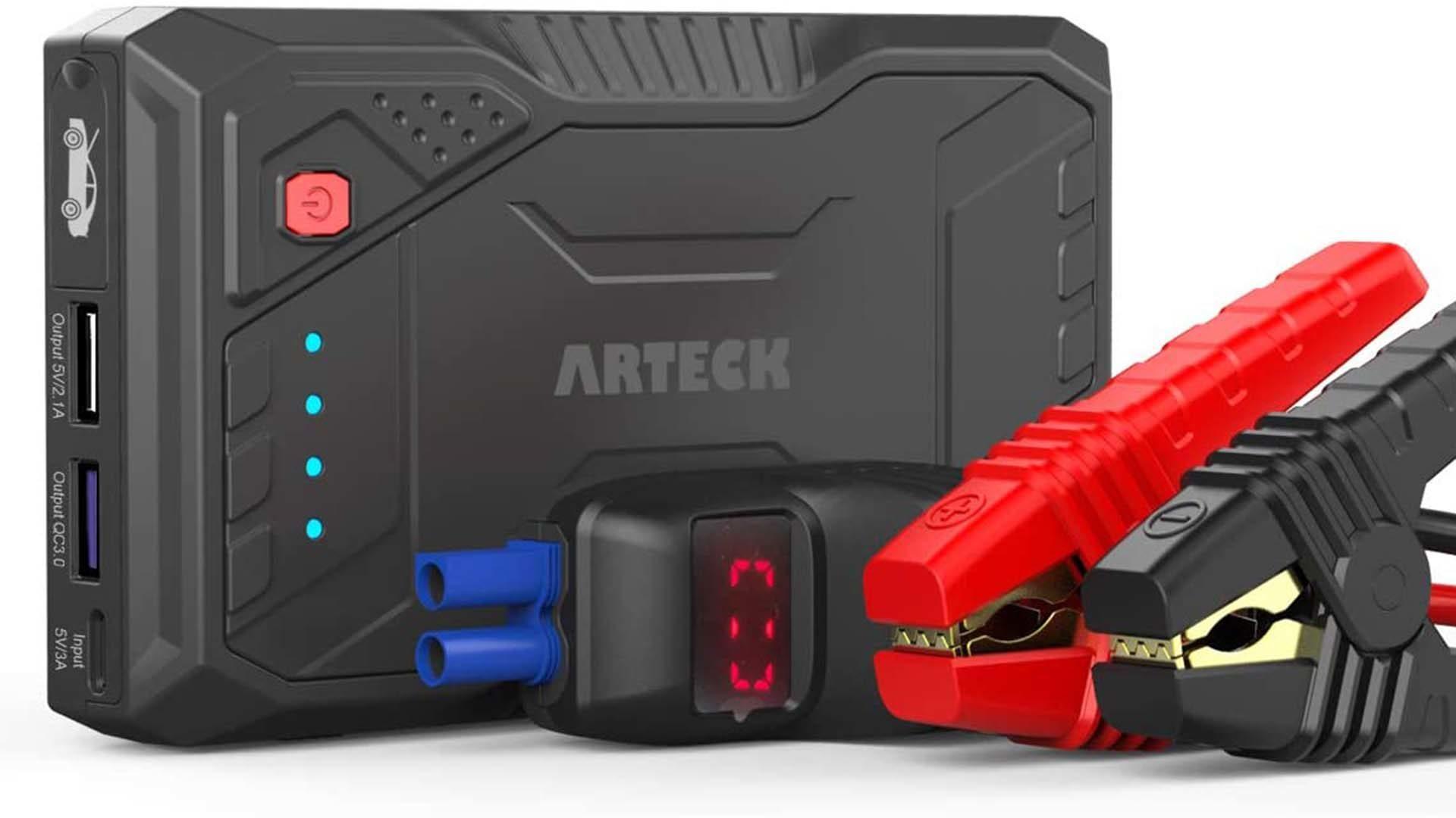 Arteck portable car jump starter