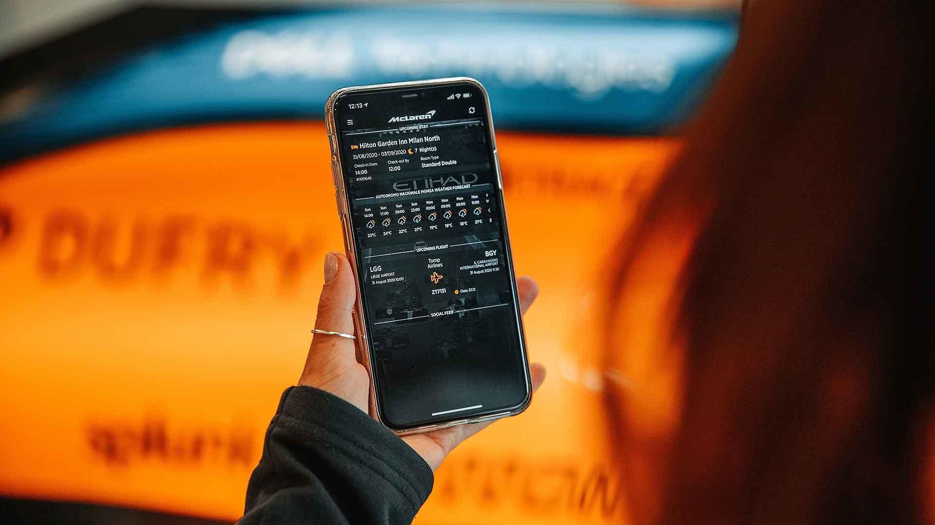 Guestia McLaren F1 app