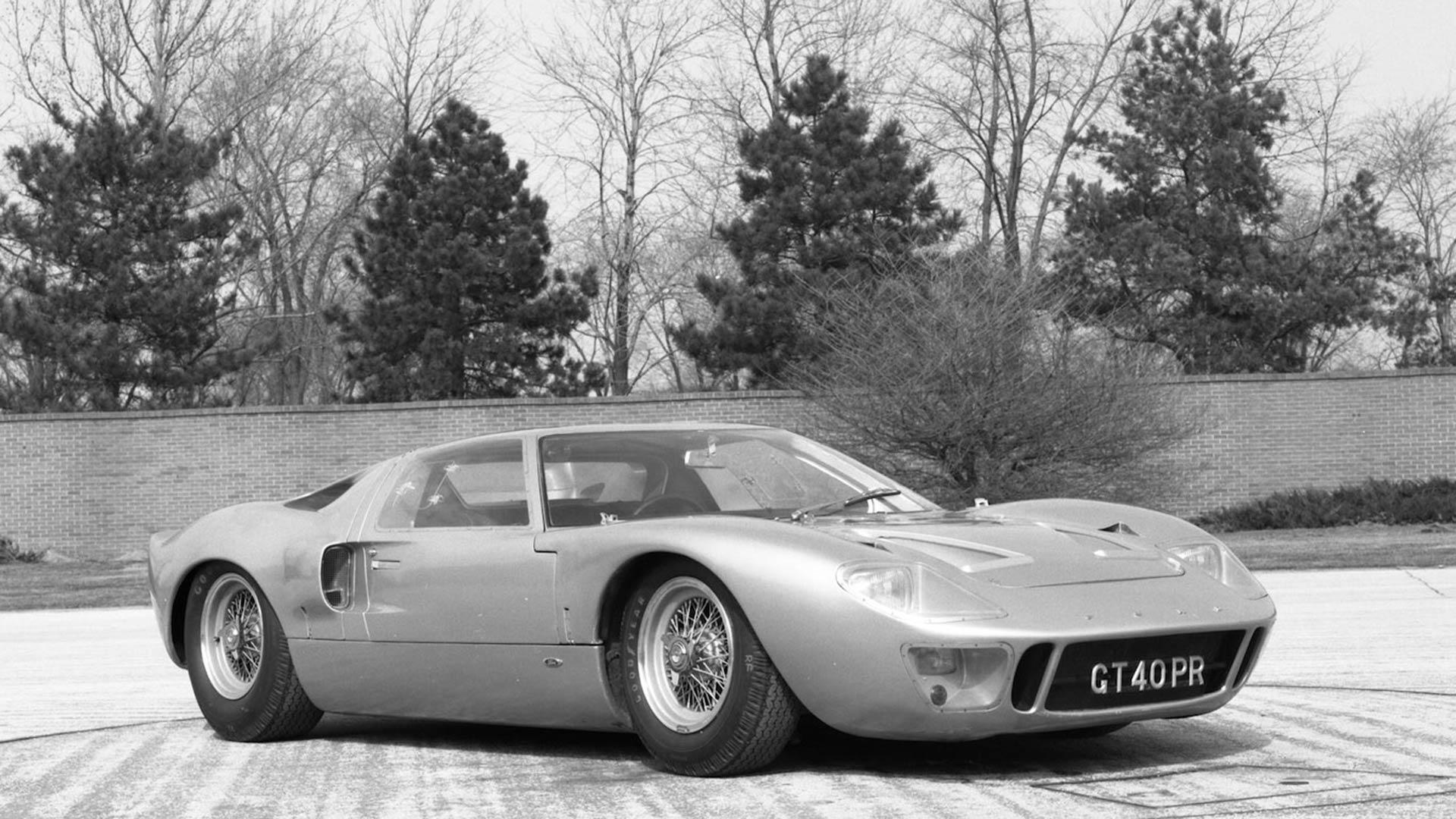 1966 Ford GT40 Mk I road car
