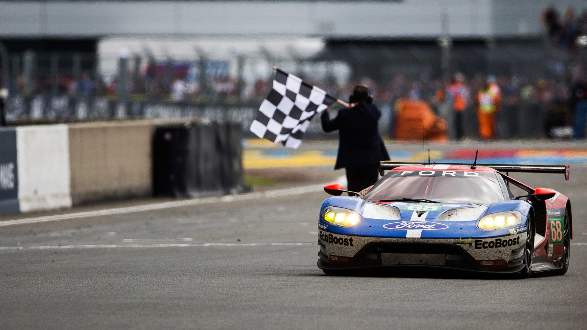 Ford GT wins 2016 Le Mans 24 Hours