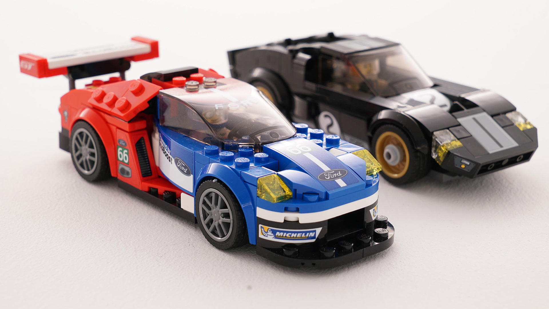 Ford captures the Le Mans-winning GT40 in Lego