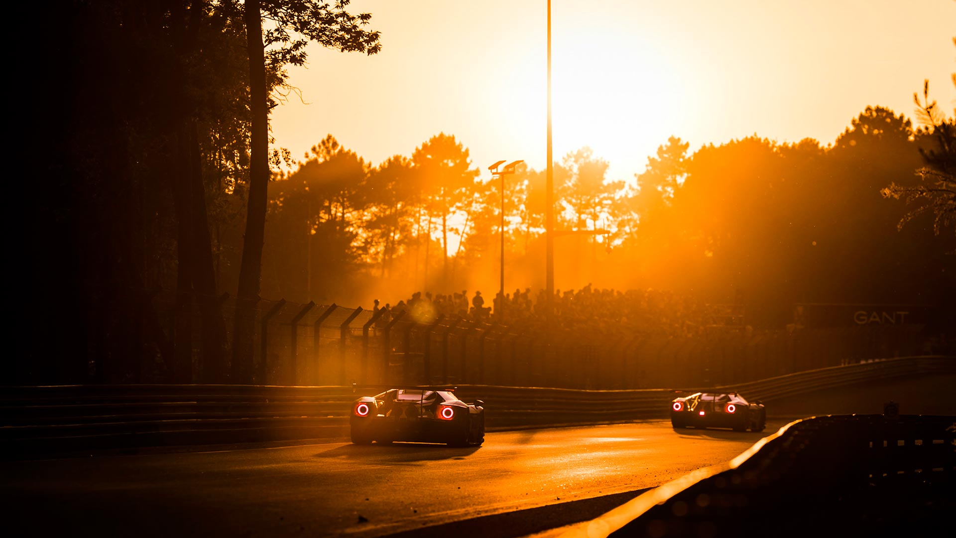 Sunset on the Ford GT Le Mans project