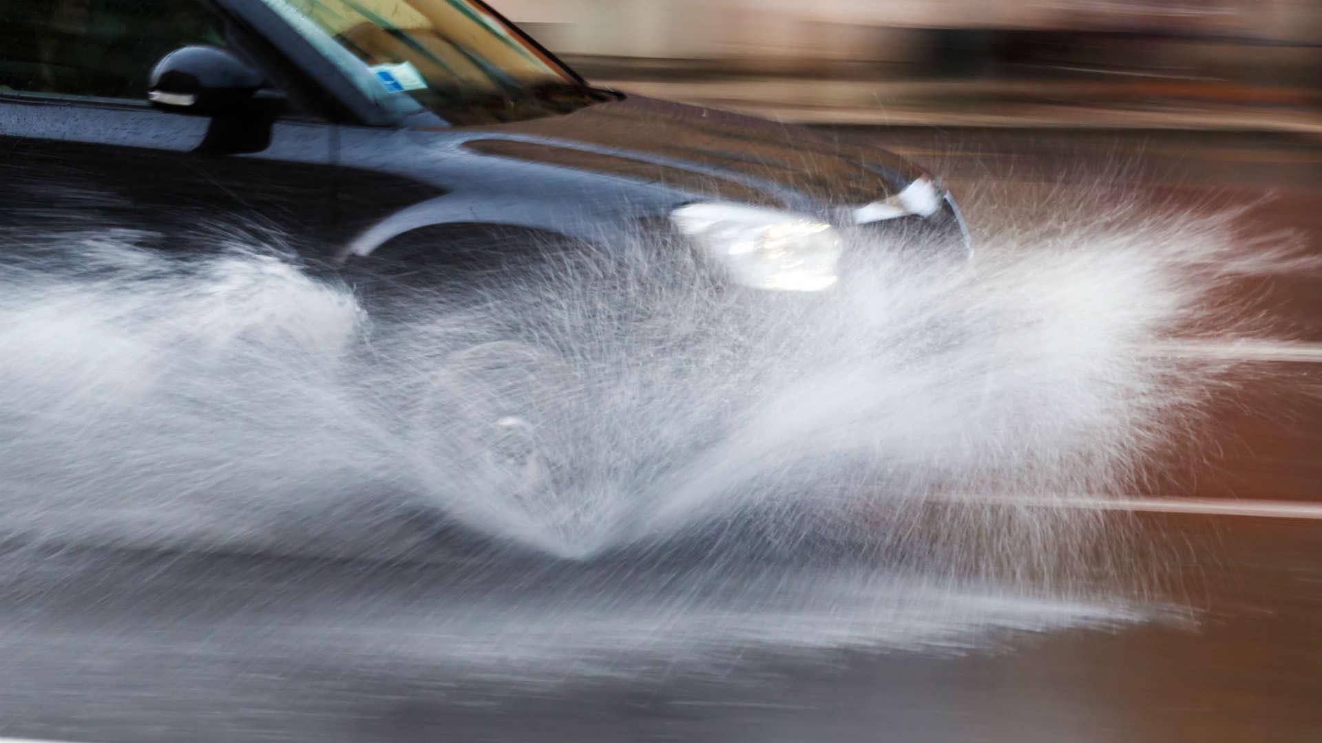 Splashing pedestrians advice