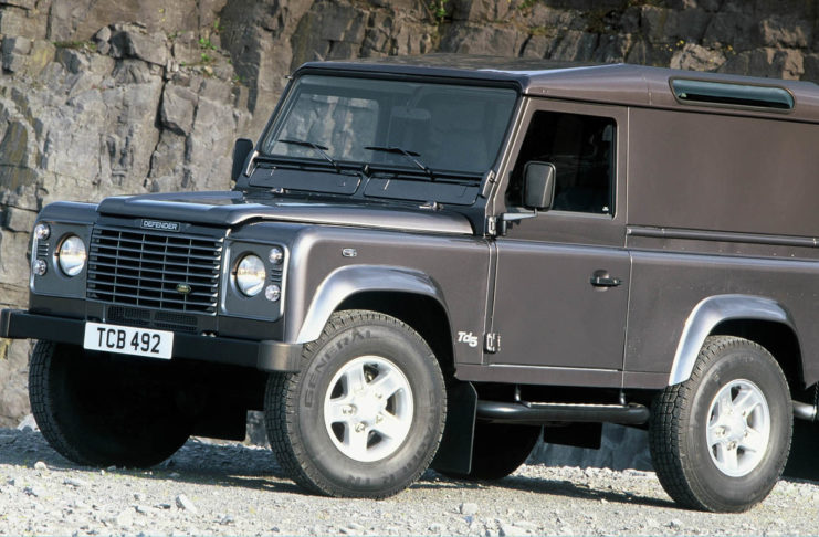 Land Rover Defender thefts
