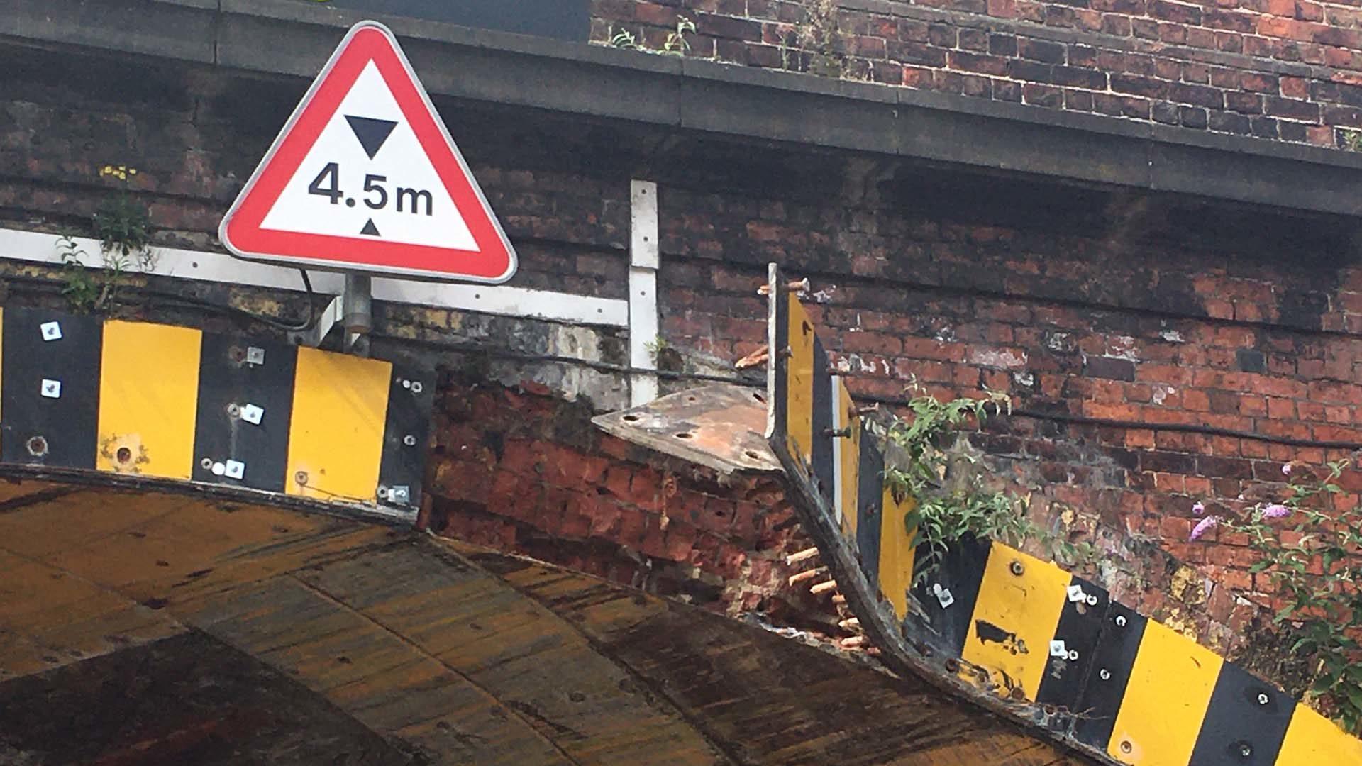 Most-bashed railway bridges