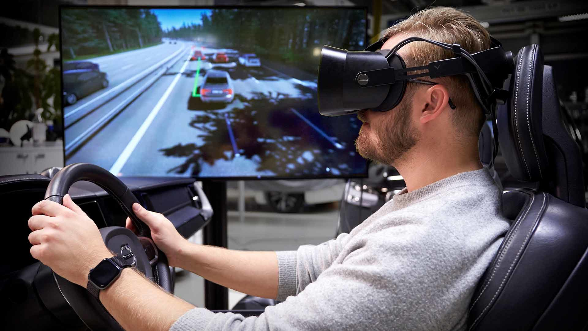 Volvo safety simulator