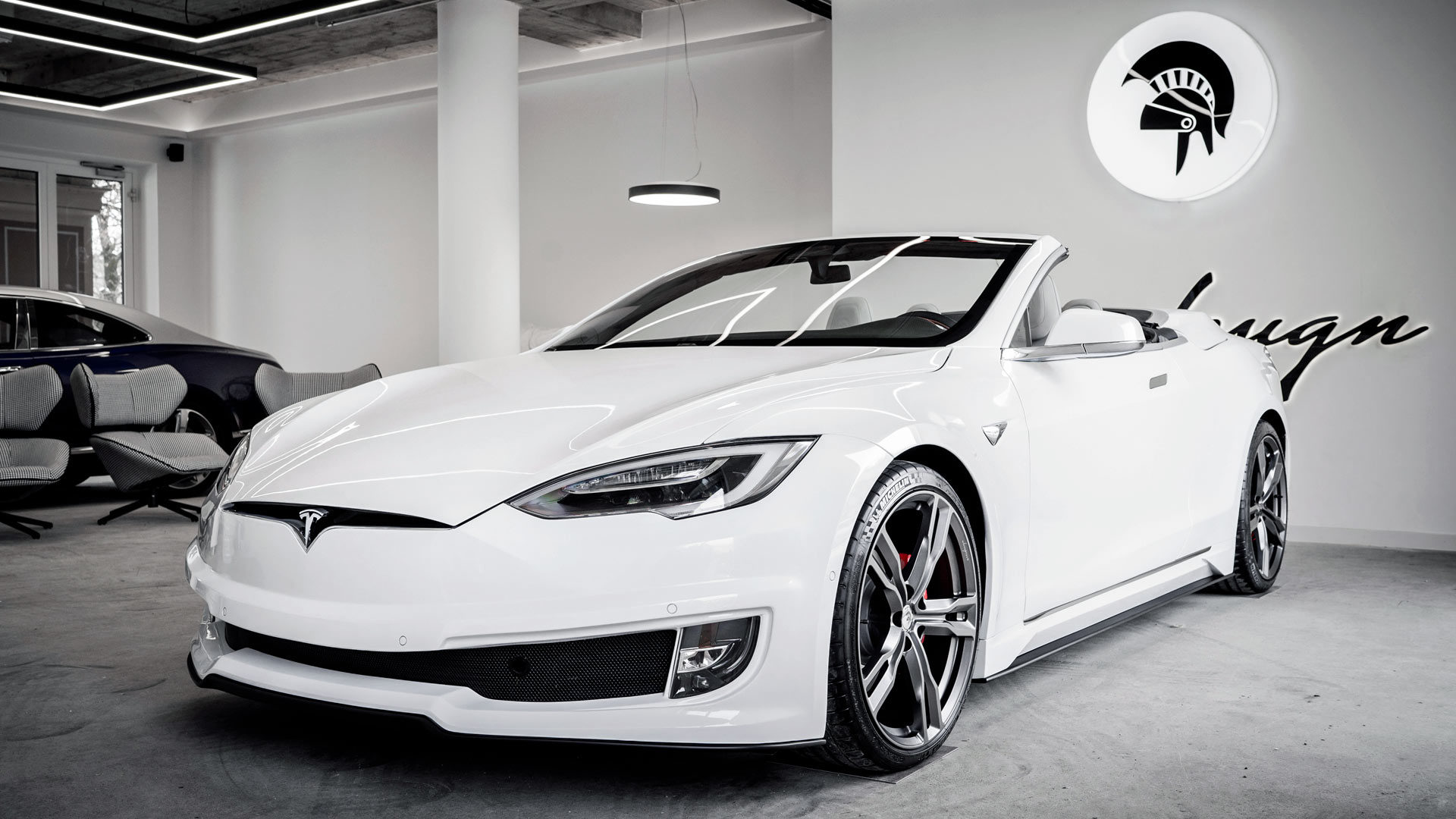Ares reveals stunning Tesla Model S convertible conversion