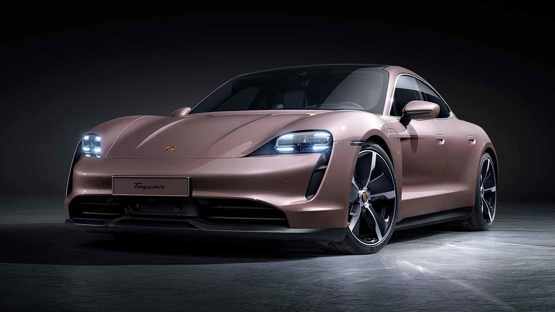 Porsche launches £70k entry-level Taycan