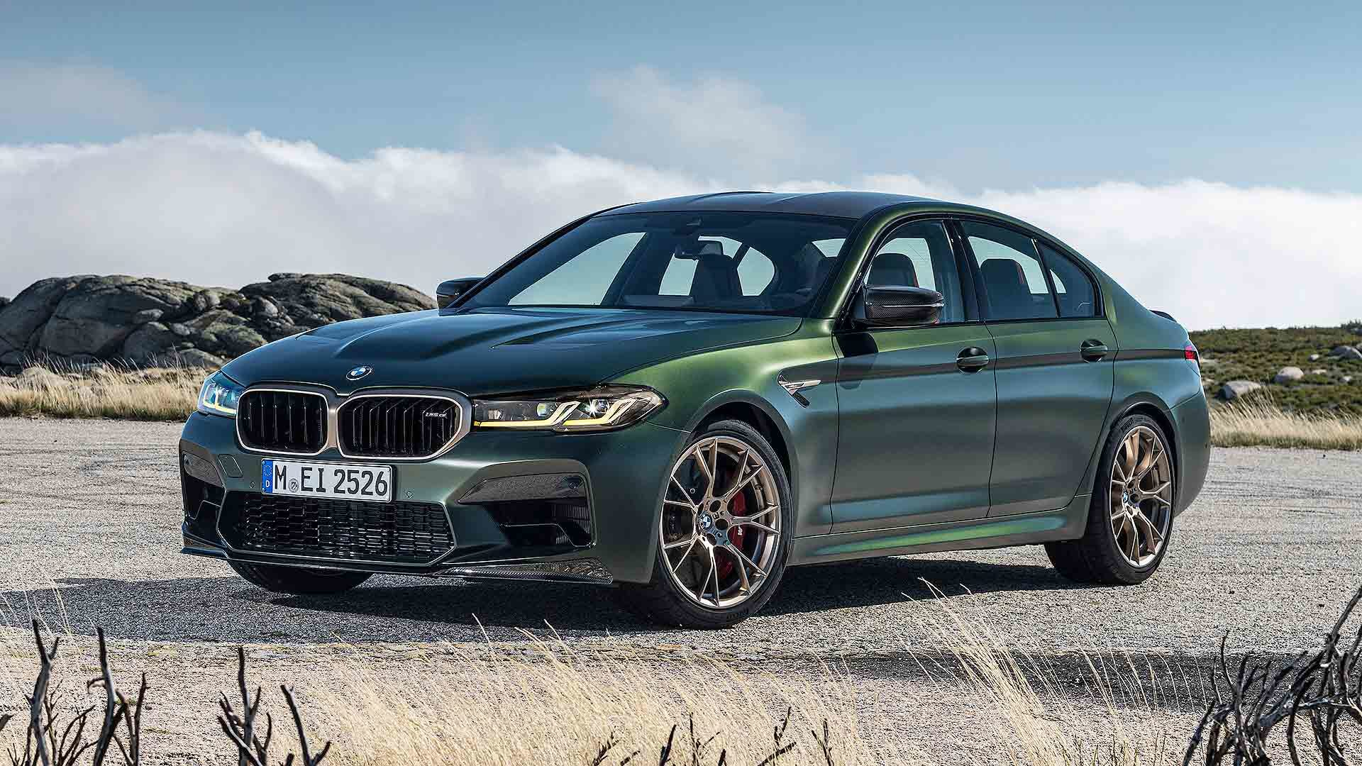 BMW M5 CS, its most-powerful sedan ever, breaks cover