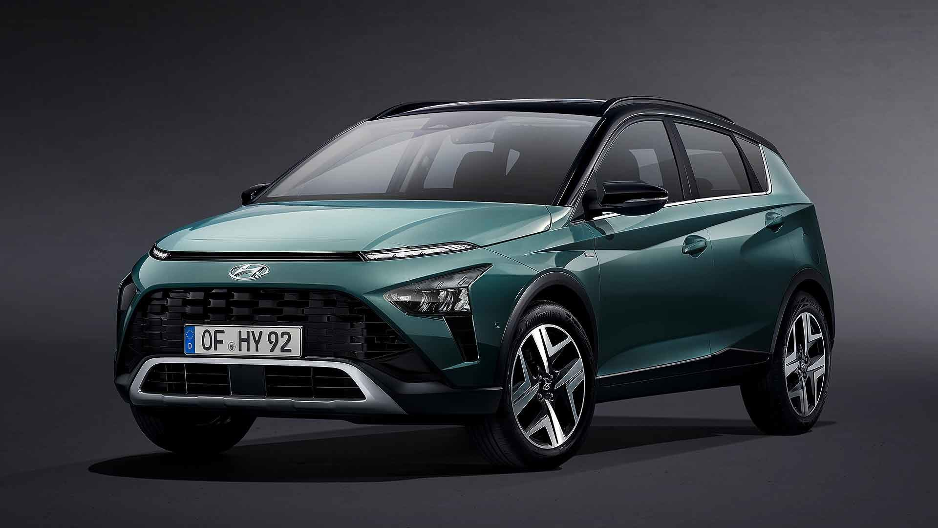 New Hyundai Bayon small SUV revealed