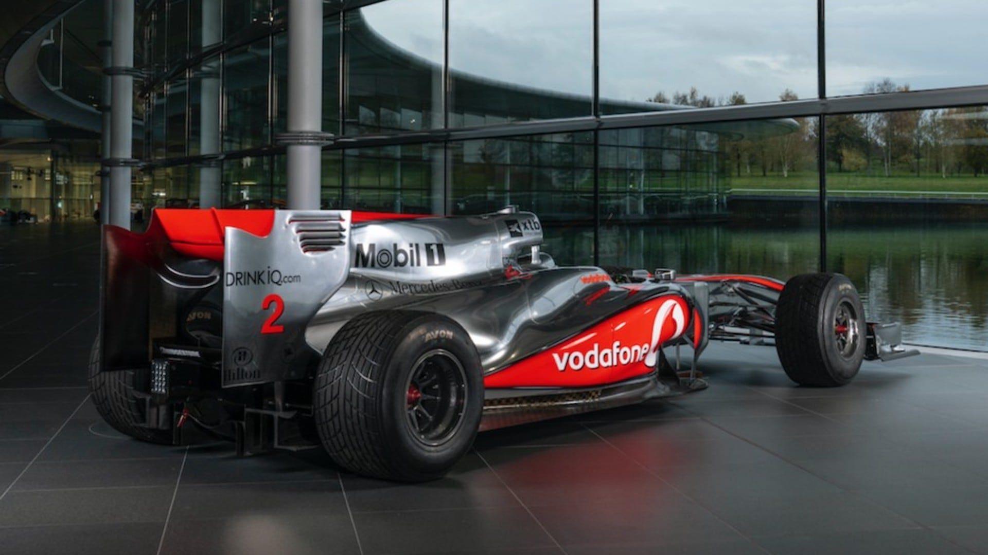 Lewis Hamilton McLaren Auction