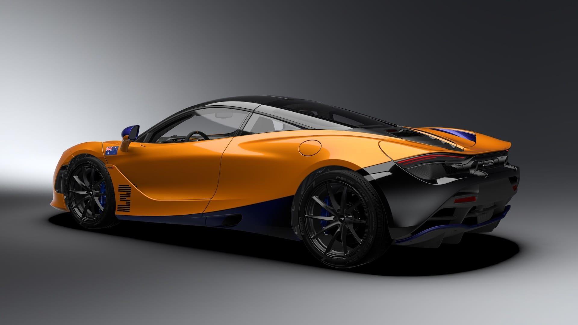 McLaren 720S Ricciardo Edition